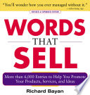 Words that Sell, Revised and Expanded Edition Book Cover