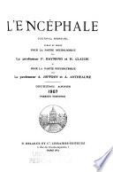 Encephale  Journal de neurologie et de psychiatrie