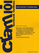 Outlines And Highlights For Research And Evaluation In Education And Psychology
