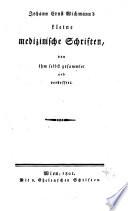 Kleine medizinische Schriften