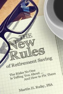 The New Rules Of Retirement Saving