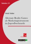 download ebook alternate reality games als marketinginstrument im jugendbuchmarkt pdf epub