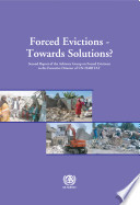 Forced Evictions   Towards Solutions