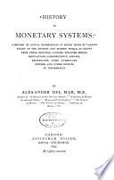 History of Monetary Systems
