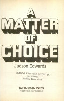 download ebook a matter of choice pdf epub