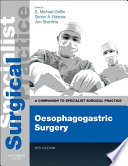 Oesophagogastric Surgery E Book