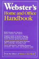 Webster s Home and Office Handbook