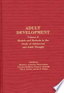 download ebook adult development: models and methods in the study of adolescent and adult thought pdf epub