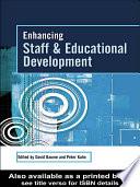 Enhancing Staff and Educational Development