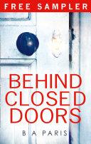 Behind Closed Doors Free Sample