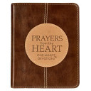 Lux-Kleather Brown - Prayers From The Heart : medallion and debossed lettering, this volume...