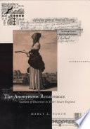 download ebook the anonymous renaissance pdf epub