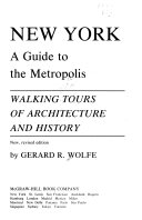 New York  a Guide to the Metropolis