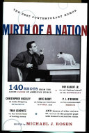 Mirth Of A Nation : humor that mirth of a nation editor michael...