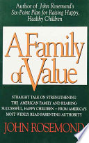 A Family of Value Of What Sounds Good And Return To The