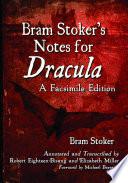 Bram Stoker S Notes For Dracula