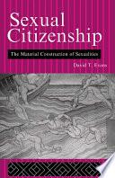 Sexual Citizenship