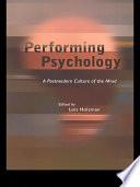 Performing Psychology