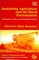 Sustaining Agriculture and the Rural Environment