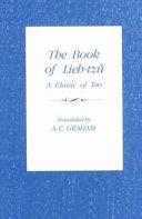 The Book of Lieh tzu