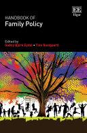 Handbook of Family Policy