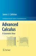 Advanced Calculus Book