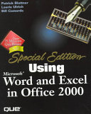 Special Edition Using Microsoft Word and Excel 2000