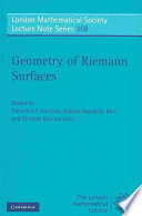 Geometry of Riemann Surfaces