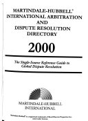 Martindale Hubbell International Arbitration and Dispute Resolution Directory