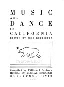 Music and dance in California