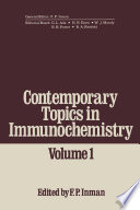 Contemporary Topics In Immunochemistry
