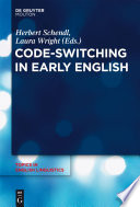 Code Switching In Early English