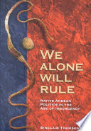 we alone will rule