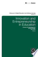 Innovation and Entrepreneurship in Education