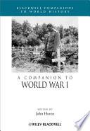 A Companion To World War I book