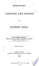 Missionary Labours and Scenes in Southern Africa Book PDF