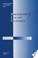 Bibliography of Law and Economics