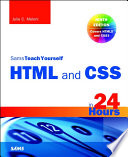 HTML and CSS in 24 Hours  Sams Teach Yourself