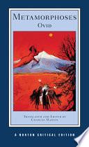 Metamorphoses  Norton Critical Editions