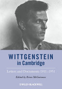 Wittgenstein in Cambridge