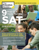 9 Practice Tests for the SAT  2018 Edition