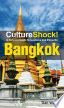 CultureShock  Bangkok