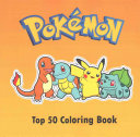 Top 50 Pokemon Coloring Book