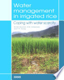 Water Management In Irrigated Rice