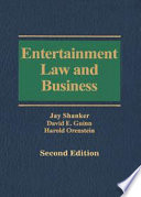 entertainment law and business second edition