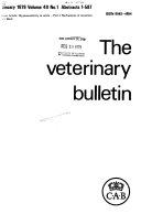 The Veterinary Bulletin
