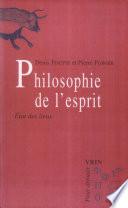 illustration du livre Philosophie de l'esprit