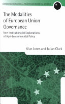 The Modalities of European Union Governance