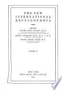 The new international encyclop  eia