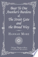 download ebook bear ye one another's burdens & the strait gate and the broad way pdf epub